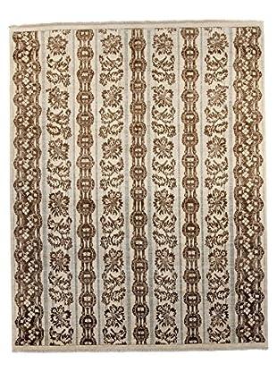F.J. Kashanian Jordan Hand-Knotted Rug, Ivory, 8' x 10'