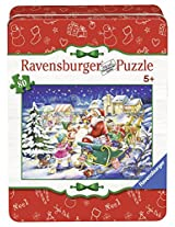 Ravensburger Christmas Joy Holiday In A Collectors Tin Puzzle (80 Piece)