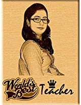 Gift for Teacher's Day Personalized Engraved Photo Plaque (5x4)