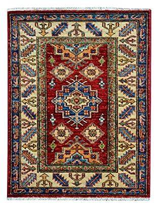 Kalaty One-of-a-Kind Kazak Rug, Red/Ivory, 1' 10