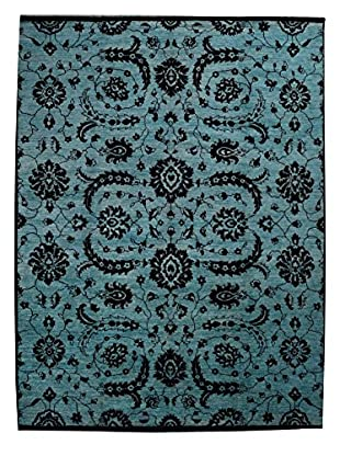Kalaty One-of-a-Kind Pak Rug, Blue, 9' 2