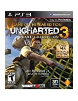 Uncharted 3: Drake's Deception - Game of the Year Edition (PS3)
