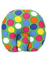 Babyhug Baby Pillow Polka Dot Print - Green