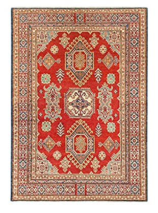 eCarpet Gallery One-of-a-Kind Hand-Knotted Gazni Rug, Red, 5' 1