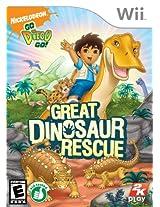Go, Diego, Go: Great Dinosaur Rescue (Nintendo Wii) (NTSC)