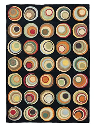 Soho Rugs Murano (Black/Multi)