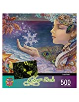 500-Piece Snow Flake Puzzle Art by Josephine Wall