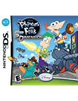 Phineas and Ferb: Across the 2nd Dimension (Nintendo DS) (NTSC)