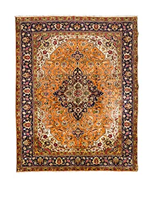 QURAMA Alfombra Persian Tabriz Marrón/Naranja/Multicolor
