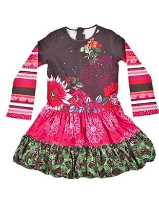 Cattimini Vestido Ethnique (marrón / rosa)