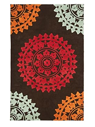 Soho Rugs Pattern (Brown/Multi)