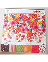 """Scrapbook & Craft Paper - Sunny Day (12"""" by 12"""" paper)"""