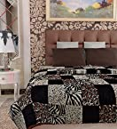 Home Candy Checkered Cozy Double Bed Mink Blanket - Multicolour (MNK-BLN-511)