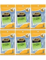 BIC Round Stic Xtra Life Ball Pen, Medium Point (1.0 mm), Blue, Total: 60 Pens (6 X 10 Count Packs)