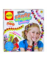 ALEX Toys Do-it-Yourself Wear M&M'S Candy Wrapper Jewelry