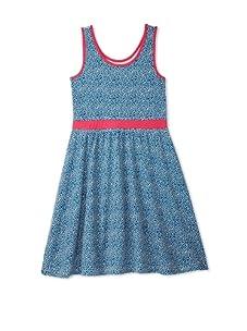 Soft Clothing Girl's Carla Tank Dress (Tula Dot)