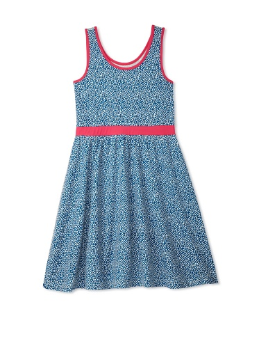 Soft Clothing Girl's Carla Tank Dress (Tula Dot)