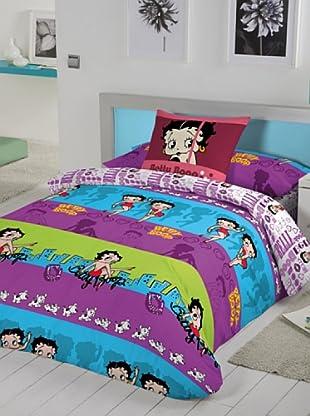 Euromoda Licencias Juego de Fundas Nórdicas Betty Boop Miami (Multicolor)