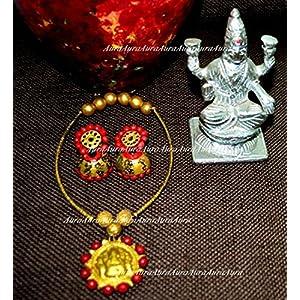 AUrA-EArTH Vasundhara jewellery Set