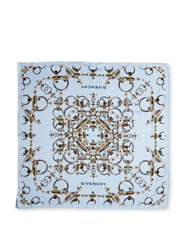 Givenchy Women's Obsedia Scarf, Light Blue