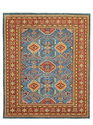 Kalaty One-of-a-Kind Kazak Rug, Blue, 5' 8