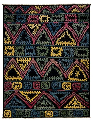 Darya Rugs One-of-a-Kind Tribal Rug, Black, 7' 10