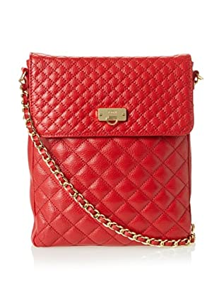Bodhi Women's Quilted Cross-Body, Red Hot
