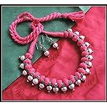 [N16O_019] Pink Thread Necklace