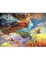 Spirit of Flight (Glitter Edition) by Josephine Wall - 1000 Piece Jigsaw Puzzle by Buffalo Games