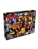 AC/DC Scrapbook 1000 Piece Jigsaw Puzzle