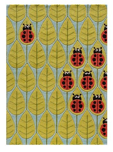 Lil Mo Ladybug Rug (Lady Bug Red)