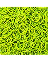 Official Rainbow Loom- Olive Green Color-600 Pcs Count Bands
