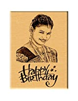 Incredible Birthday Gift - Engraved Wooden Photo Plaque (5x4)