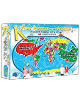 Kids' Puzzle of the World (80 Piece)