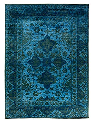 Darya Rugs Ziegler One of a Kind Rug, Blue, 10 x 14