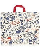 Kanvas Katha Canvas 36 inch Ecru Travel Bag (KKSC002)