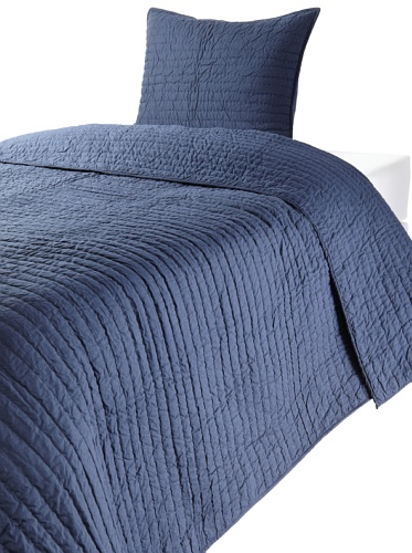 Amity Home Abel Twin Quilt Set (Navy)