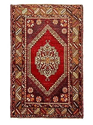 Rug Art Ltd. Vintage Anatolian Carpet, Red/Multi, 3' 5