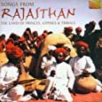 ラジャスタンの歌 王族とジプシーと少数民族の大地 (Songs from Rajasthan: The Land of Princes, Gypsies & Tribals) [Import CD from UK] Various Artists (CD2001)Compilation