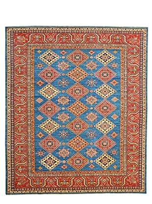 Kalaty One-of-a-Kind Kazak Rug, Blue, 7' 11