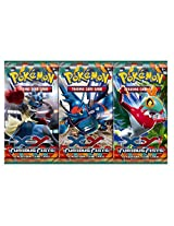 Pokemon Cards - 10 Packets/Sets of Assorted Game Cards for Trading Card Game