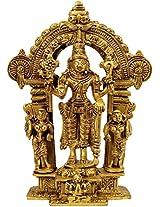 Bhagwan Vishnu - Brass Statue