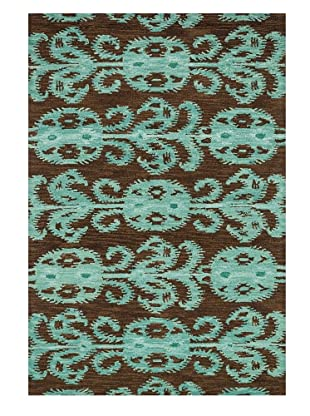 Loloi Rugs Milano Rug (Chocolate/Teal)