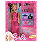 Barbie Evening Gown Doll, Multi Color