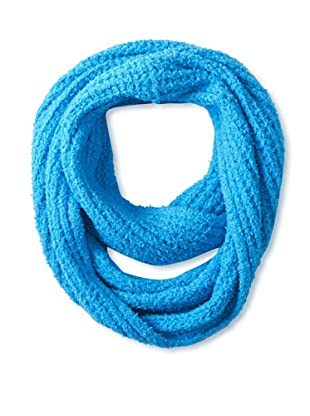 525 America Women's Textured Infinity Scarf, Blue