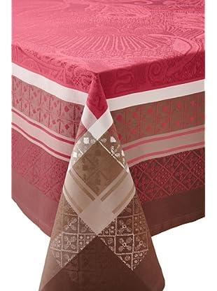 Garnier-Thiebaut Isaphire Table Cloth (Grenat)