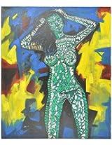 Liflad Artmart Acrylic and Canvas Painting (76 cm x 76 cm, LA26)