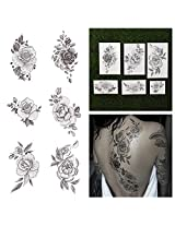 Tattify Floral Temporary Tattoos A Rose By Any Other Name (Set Of 12)