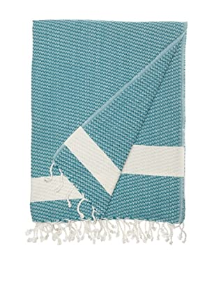 Nine Space Sultanahmet Fouta Towel (Teal)