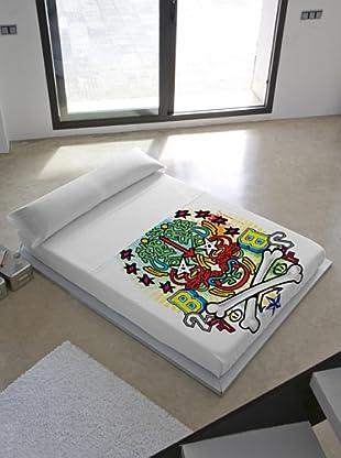 Kashi Kisu Juego de Sábanas Skullz (Multicolor)